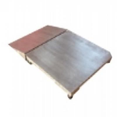 单引坡不锈钢电子地上衡