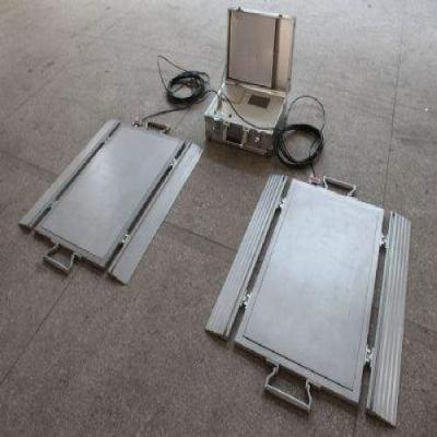便携式轴重台板(分体式)