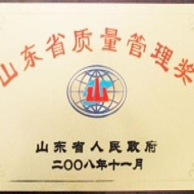 山东省质量管理奖